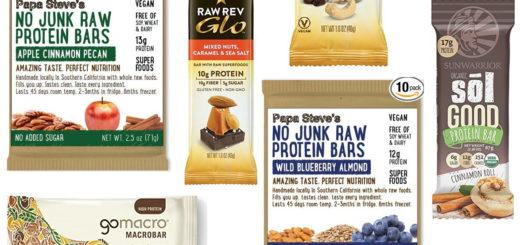 Best Organic Vegan Protein Bars