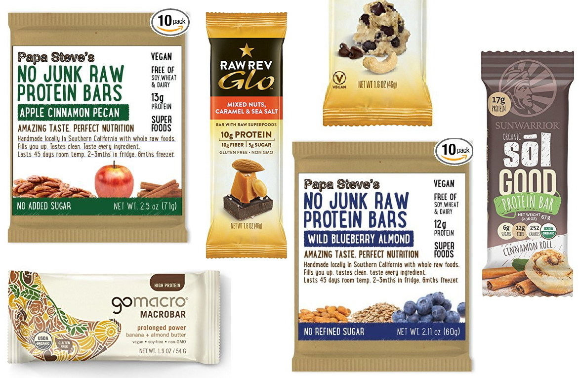 Best Organic Vegan Protein Bars