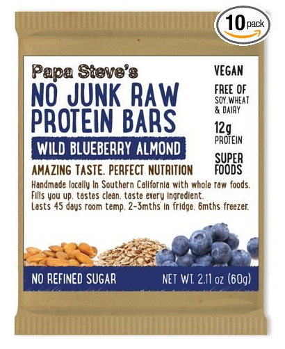 Blueberry Organic Vegan Protein Bars