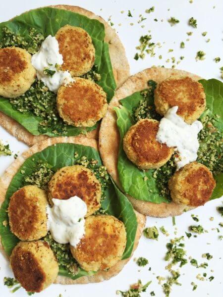 Vegan Crispy Falafel