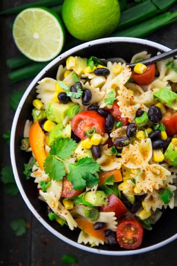 Vegan Southwestern Pasta Salad