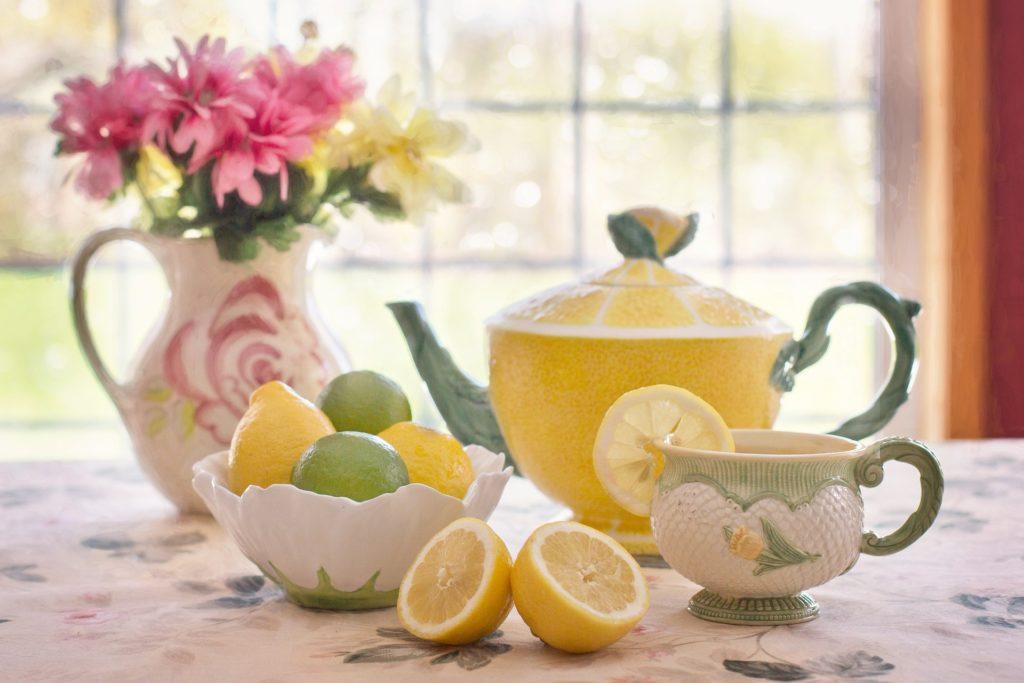 Vegan Tea Party Teacup and teapot