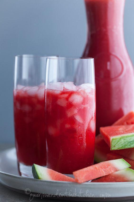 Vegan Tea Party Natural Watermelon Lemonade