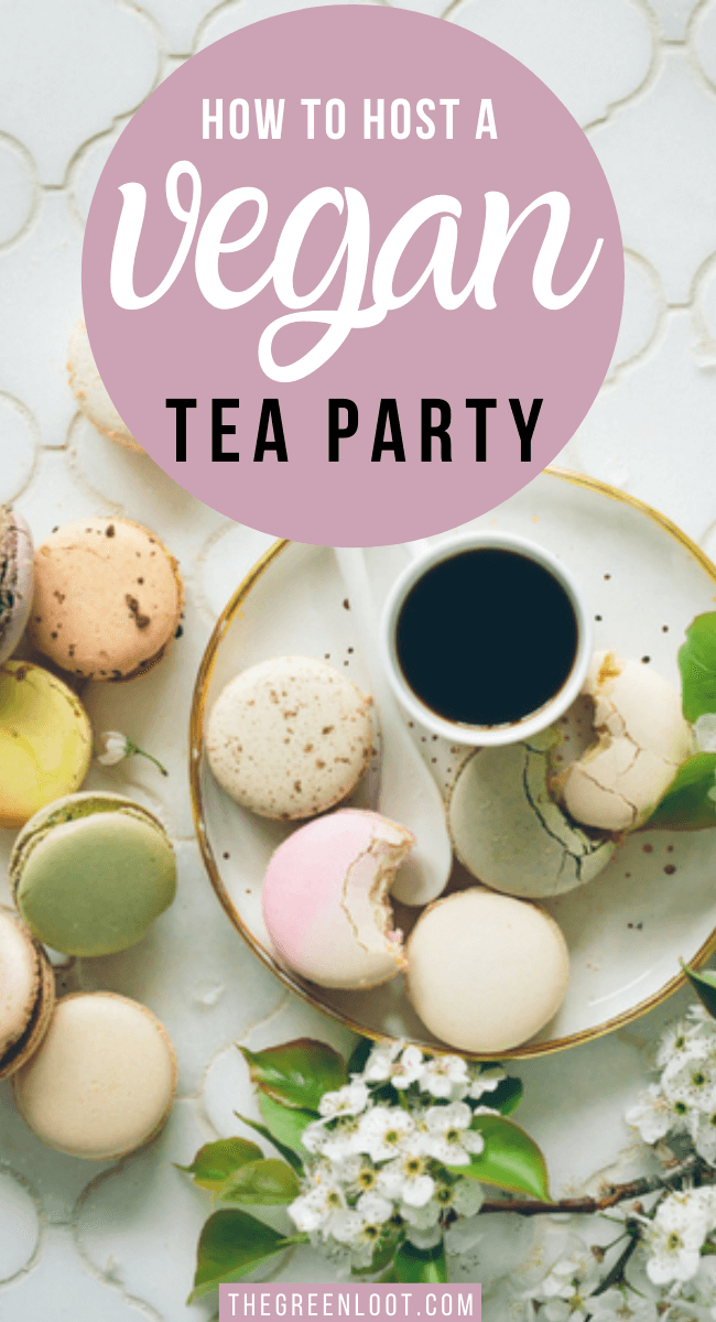 What to serve at a Vegan Tea Party? Here are 14 recipes and ideas so you can host the best afternoon tea ever. Sandwiches, desserts and more! | The Green Loot #vegan #veganrecipes