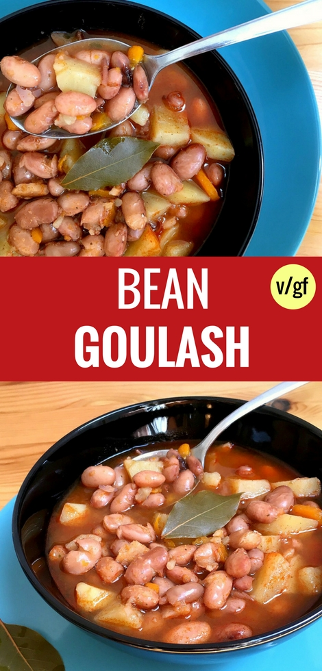Vegan Bean Goulash Soup Recipe | The Green Loot #vegan