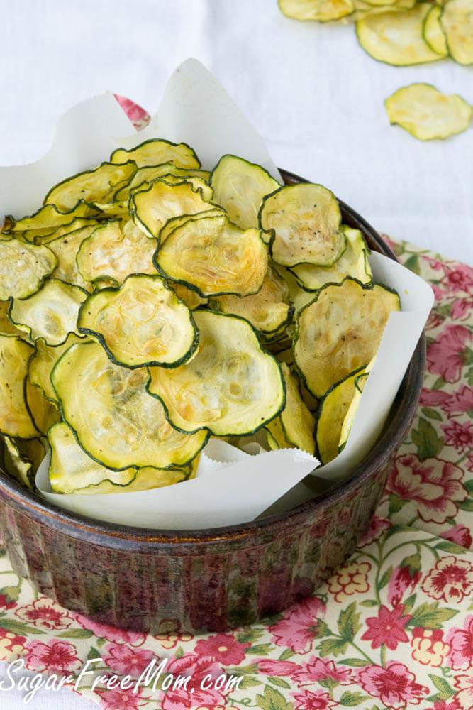 Salt and vinegar zucchini chips, Avoid Binge Eating: