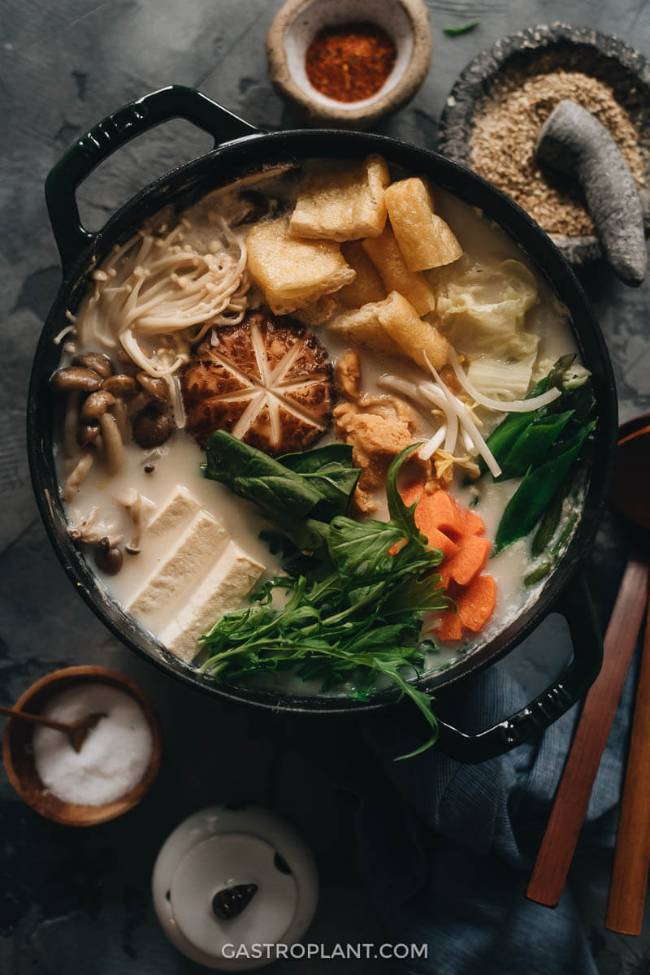 Soy Milk Hot Pot