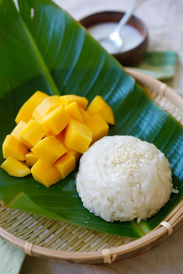 Vegan Mango Sticky Rice
