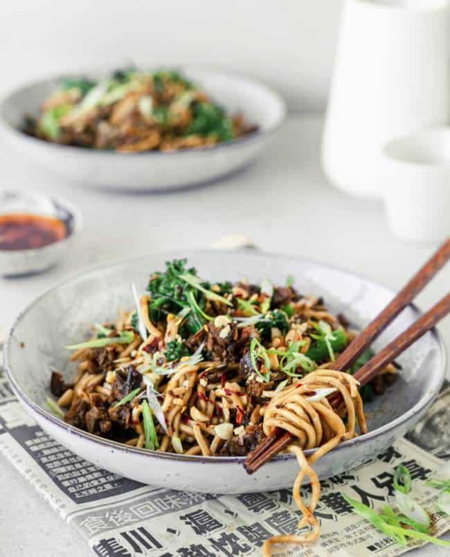 Sichuan Chilli Noodles