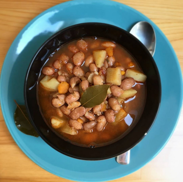Vegan Bean Goulash Soup Recipe