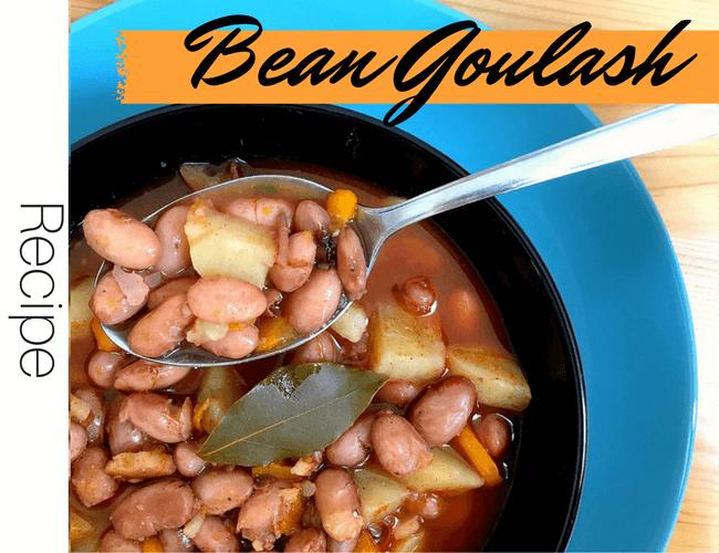 Vegan Bean Goulash Soup Recipe