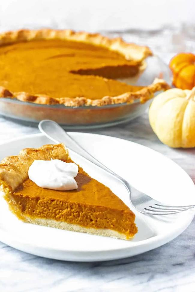 Classic Pumpkin Pie (GF)