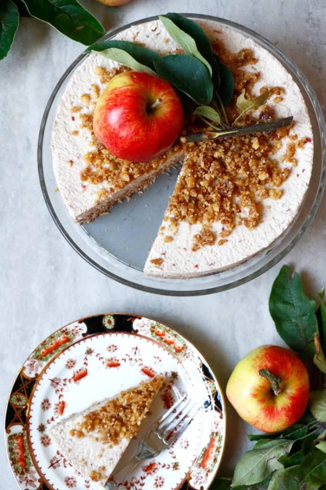 Raw Apple Cake (grain-free)