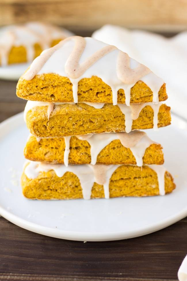 Pumpkin Scones (Starbucks Copycat)