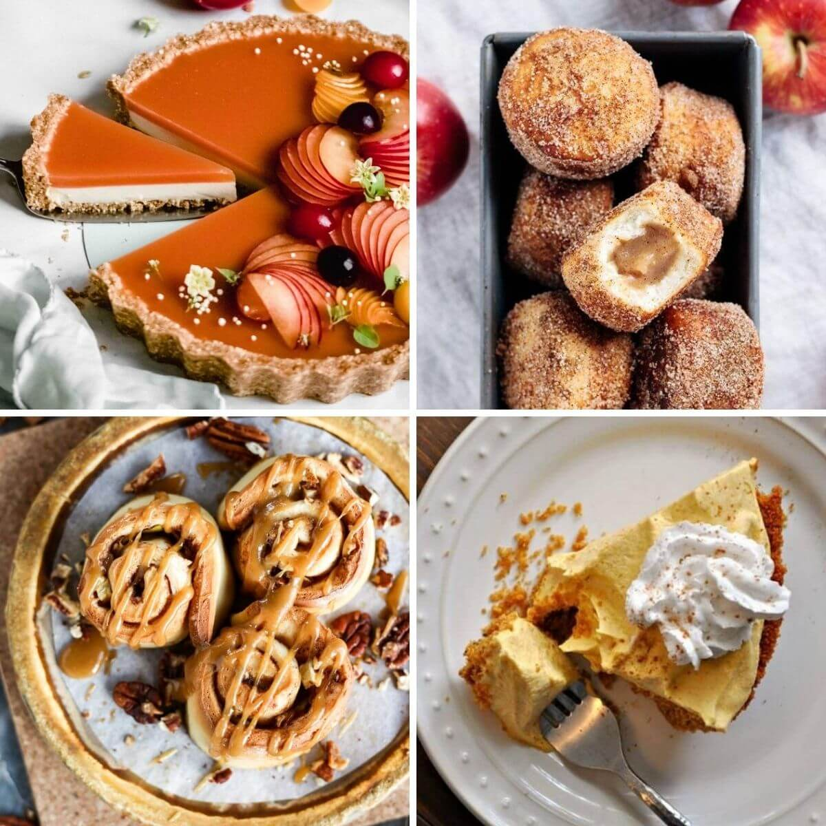 vegan Fall dessert recipes