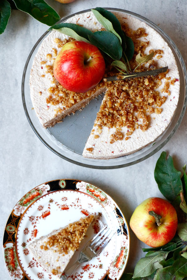 Vegan Raw Apple Cake (grain-free)