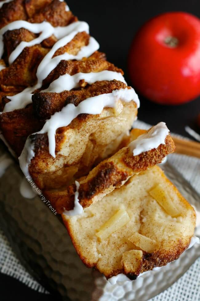 Apple Pull Apart Bread (Gluten Free)
