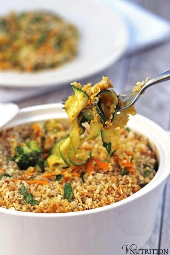 Vegan Pumpkin Vegetable Casserole