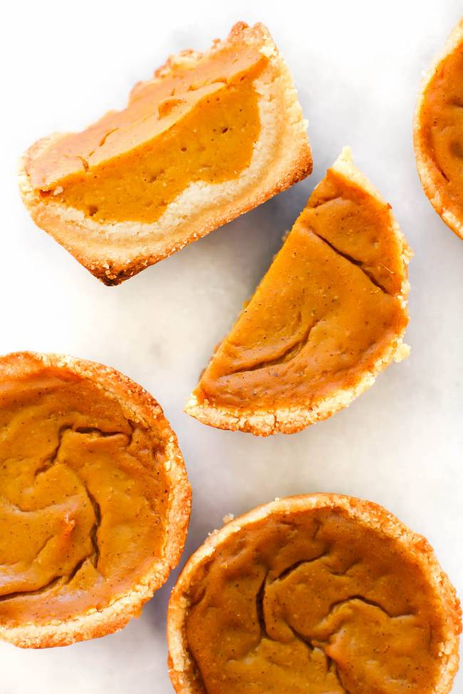 Grain-free Pumpkin Pie Cups