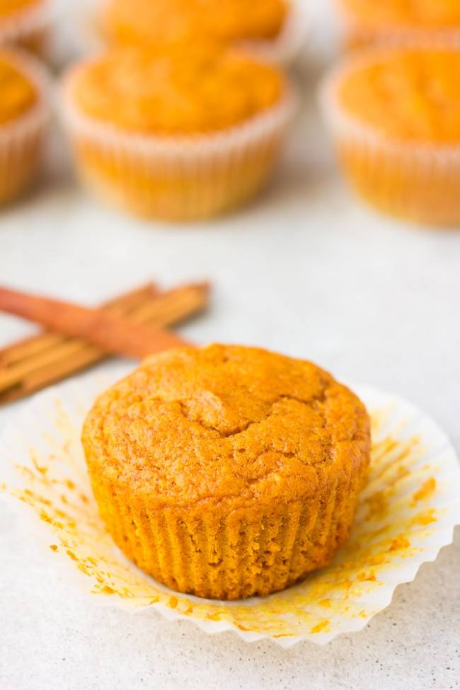 1-Bowl Pumpkin Muffins