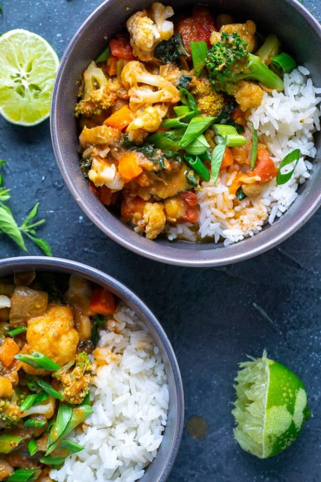 Thai Coconut Vegetable Curry