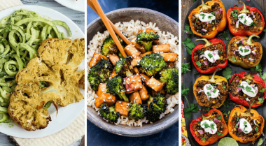 Slim down with these plant-based and dairy-free, vegan weight loss recipes! They are perfect as a part of a fat loss diet, for lunch or dinner as they are delicious and filling. Healthy eating has never been more fun! | The Green Loot #vegan #healthy #weightloss