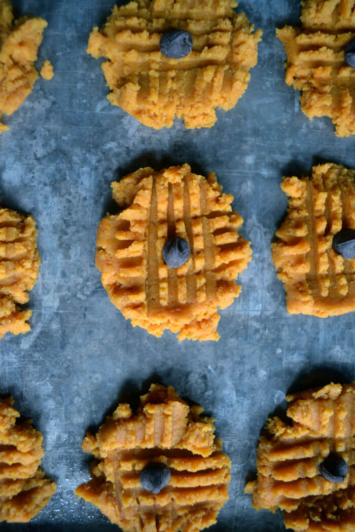 Low-carb Pumpkin Cookies (gluten-free)