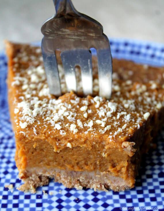 Vegan Clean Eating Pumpkin Pie