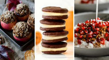 Vegan Clean Eating Fall Desserts and Breakfasts