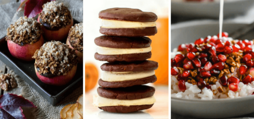 Vegan Clean Eating Desserts for Fall (+Breakfast)