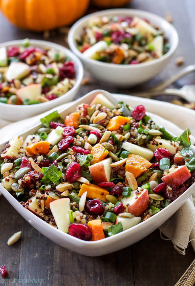 Vegan Harvest Quinoa Salad