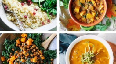 Vegan Clean Eating Fall Dinner Recipes