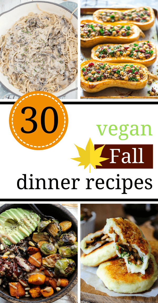 These Healthy Vegan Fall Recipes are super cozy! A long list of the best, tasty, plant-based meals that will warm you up even on the chilliest Autumn evening! | The Green Loot #vegan #veganrecipes #dairyfree #healthyrecipes #fallrecipes