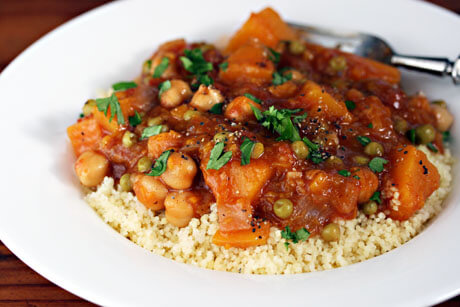 Vegan Butternut Squash and Chickpea Stew (gluten-free) ((Healthy Vegan Fall Recipes for Dinner)