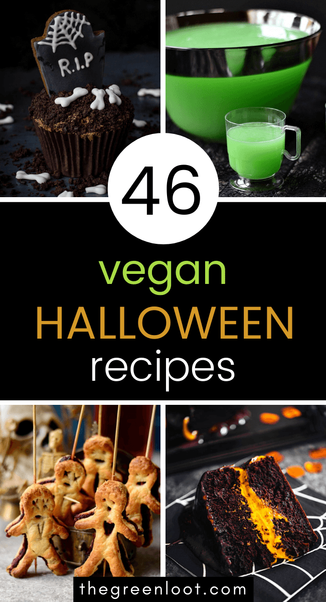 46 Spooky Vegan Halloween Recipes Treats Snacks Drinks The Green Loot