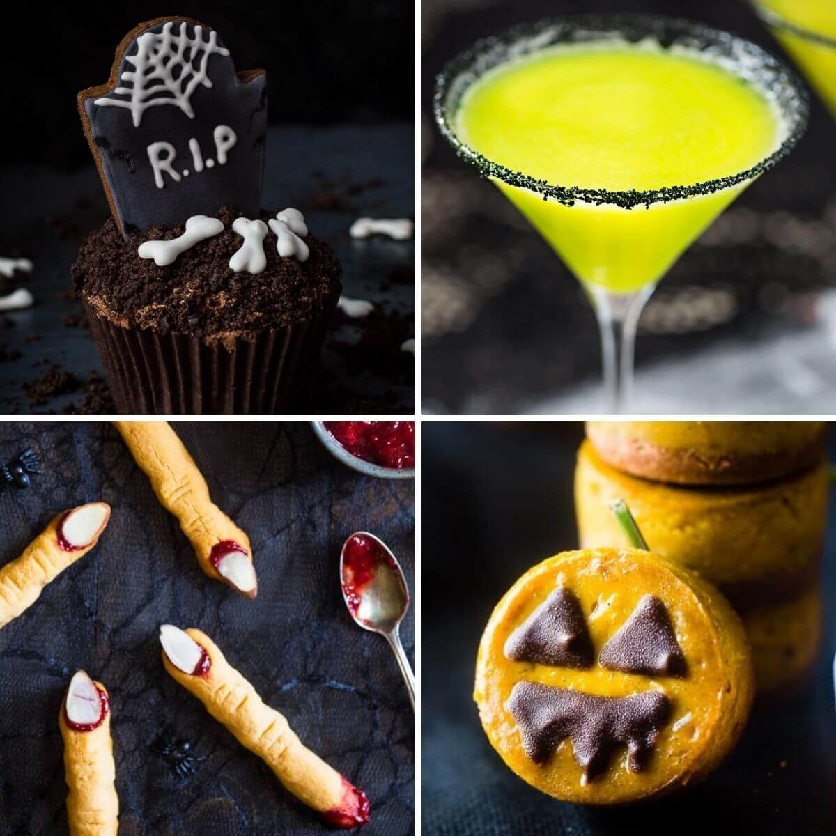 vegan Halloween recipes - treats, snacks