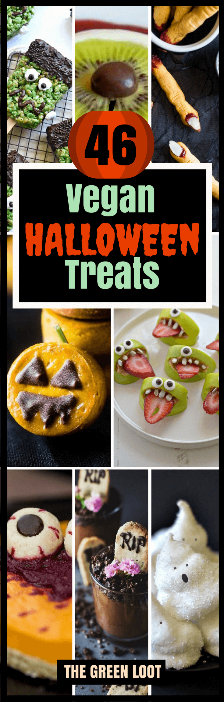 Vegan Halloween Treats, Snacks and Recipes