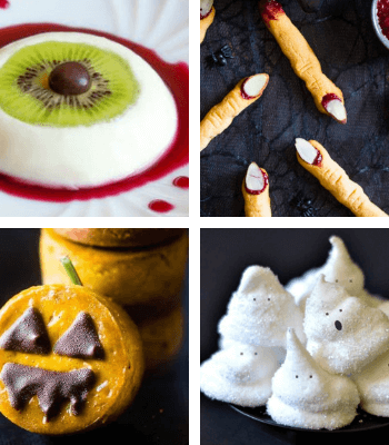 These easy, Vegan Halloween Treats and snack recipes are guaranteed to make your party super fun, sweet and spooky!   The Green Loot #vegan #veganrecipes #Halloween