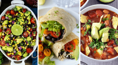 Vegan Mexican recipes are the perfect choice for an easy weeknight or weekend dinner. They are plant based, healthy and delicious. | The Green Loot #vegan #veganrecipes #plantbased #mexicanfood