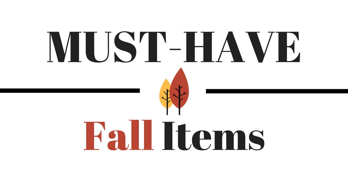 Vegan Must Have Fall Items Products