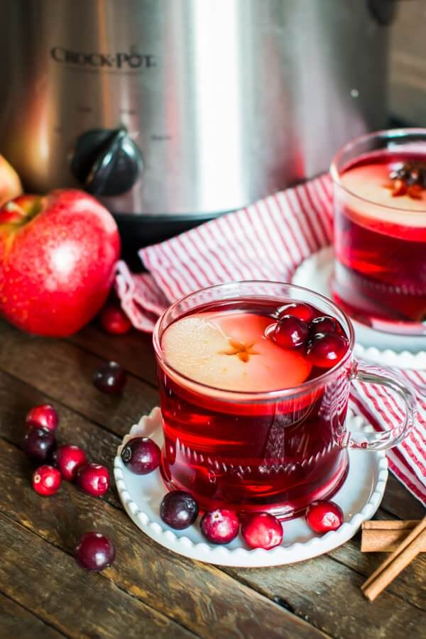 Vegan Cranberry Apple Cider