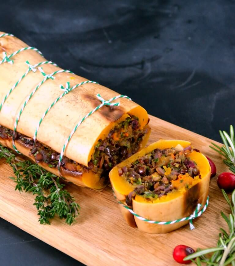 Vegan Festive Butternut Roast