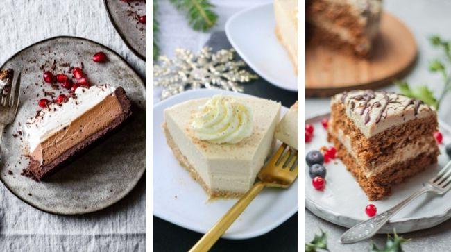 vegan Christmas cake recipes