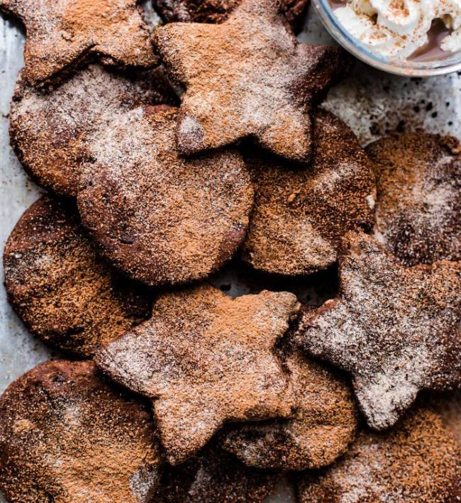 Mexican Hot Chocolate Sugar Cookies (paleo)