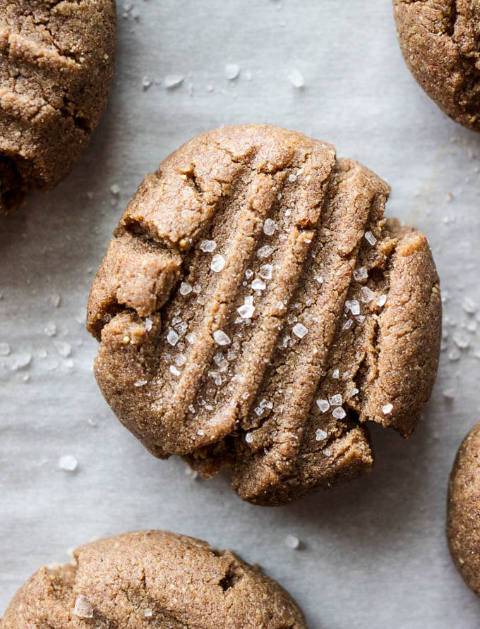 Vegan Almond Butter Cookies