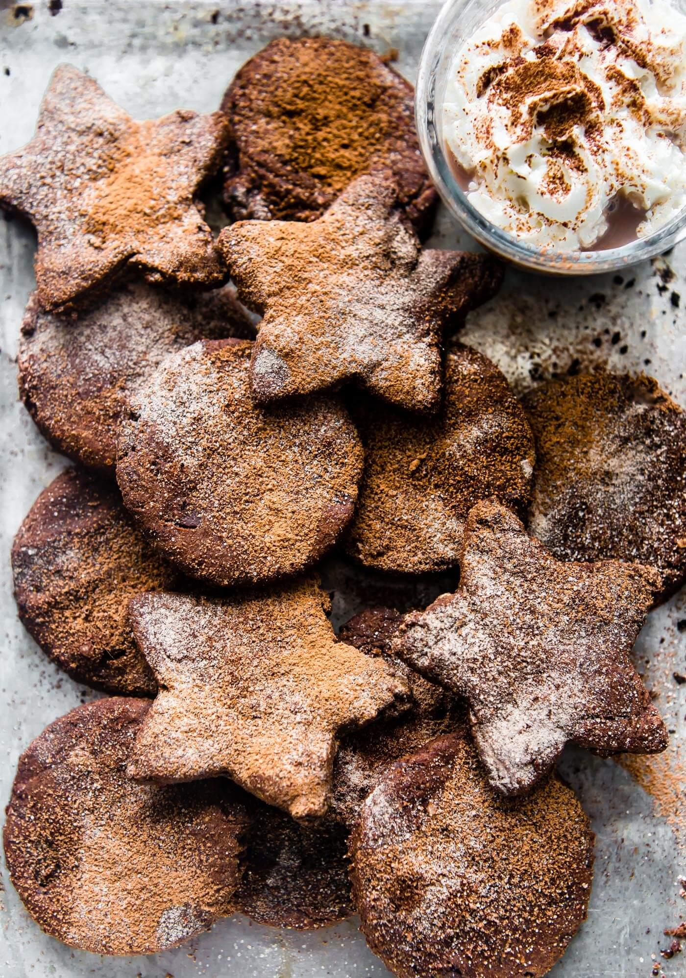 Vegan Mexican Hot Chocolate Sugar Cookies (paleo)