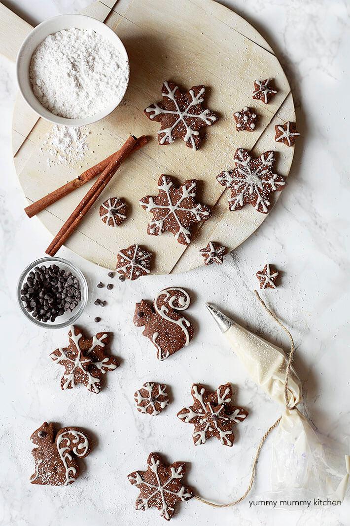 Vegan Gingerbread Cut-out Cookies