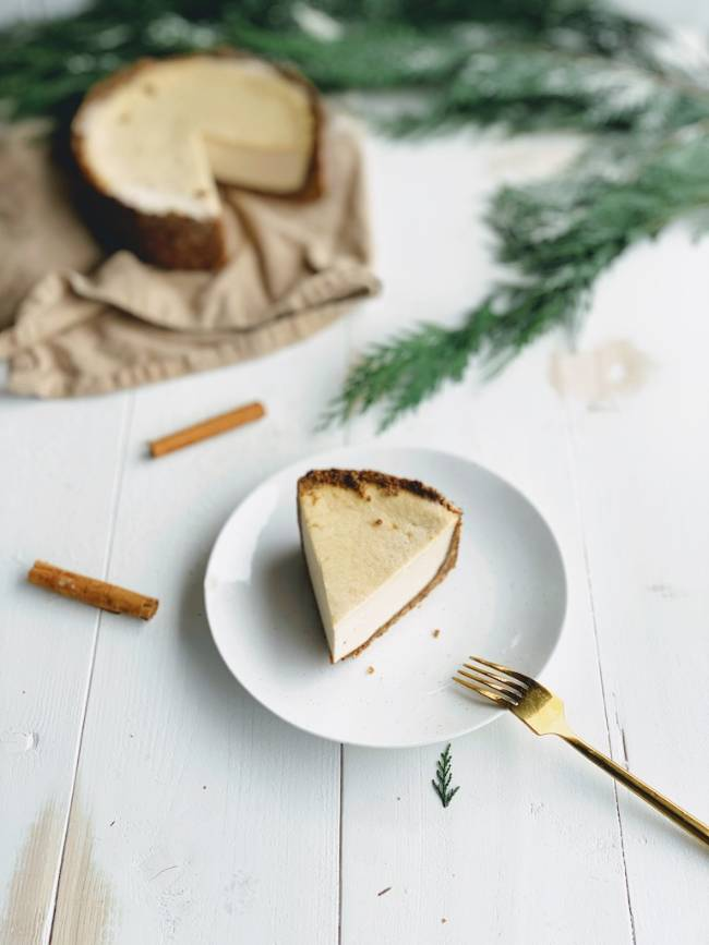 Baked Gingerbread Cheesecake