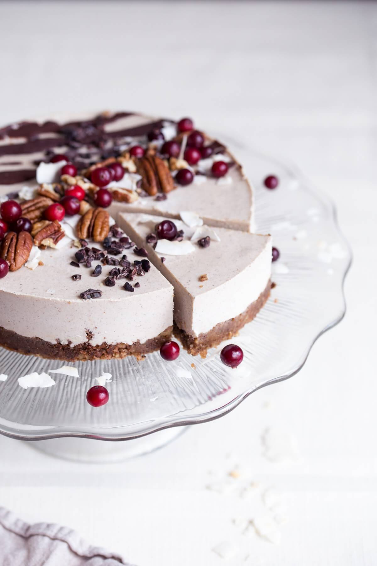 Raw Gingerbread Cake
