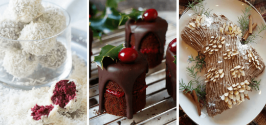 We have collected the absolute best, most delicious and divine vegan Christmas treats, that are easy and even healthy! Enjoy these finger-licking yummies! See our best vegan Christmas cookies list too! Happy Holidays! | The Green Loot #vegan #Christmas